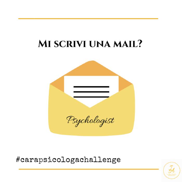 #carapsicologachallenge-ti-sfido-a-scrivermi